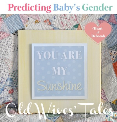Predict Your Baby's Gender, old wives' tales, boy or girl