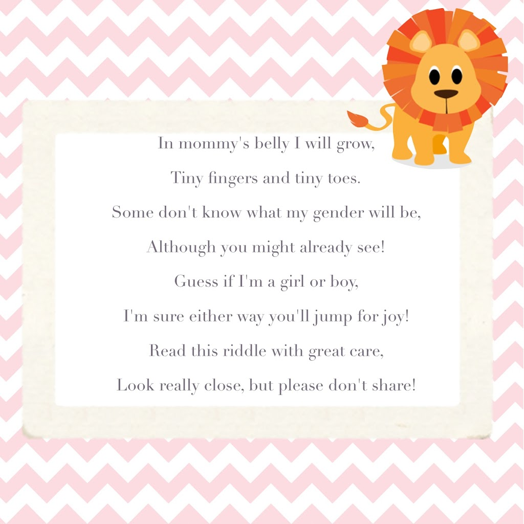 poems for pregnancy announcement   just b.CAUSE