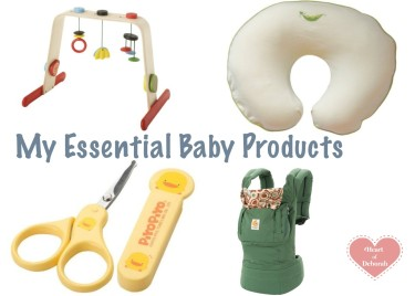 essential baby products for your registry