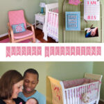 Designing Our Baby Girl Nursery