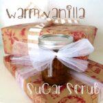 DIY Warm Vanilla Sugar Scrub