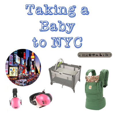 Taking a baby road trip, traveling with a baby