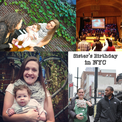 baby road trip, celebrating birthday in NYC with a baby, traveling with a baby