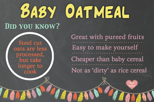 How To Cook Rolled Oats For Baby