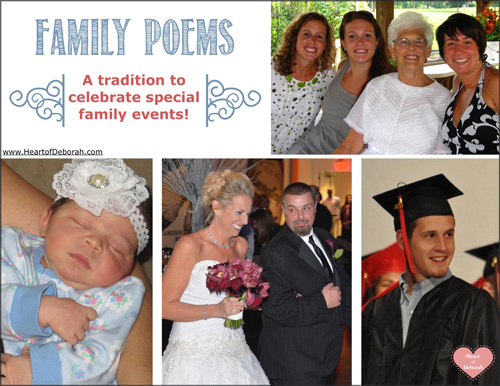 poems a family tradition for special occasions