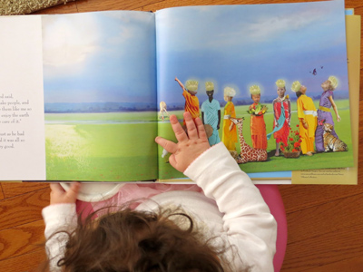 let there be light by archbishop desmond tutu, illustrated by Nancy Tillman