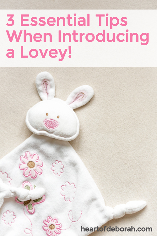 We tried sleep training and were able to finally get some sleep. Part of this process involved introducing a lovey. Here is how we did it!