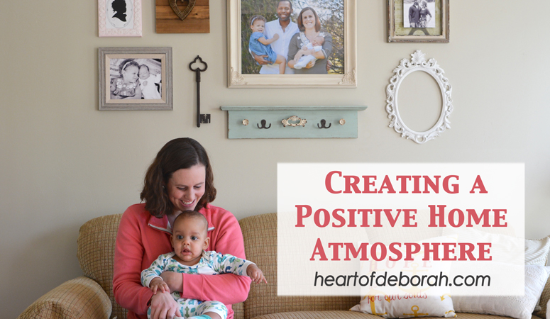 What defines the atmosphere of your home? Love? Grace? Here are 5 Steps to Creating a Positive Home Atmosphere For Your Family.