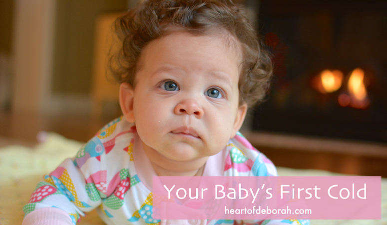 Natural remedies for your sick baby. How to deal with your baby's first cold.