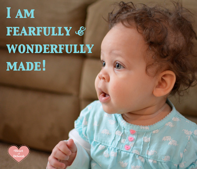 i am fearfully and wonderfully made, building kid's self-esteem
