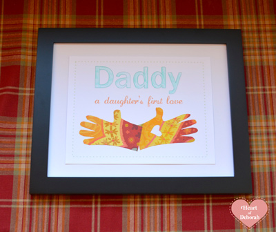father's day craft with kids, free printables