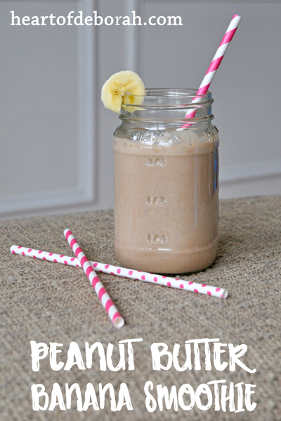 I love Reese's Peanut Butter cups, but they aren't healthy. This peanut butter smoothie recipe is not only delicious, but a nutritious alternative.