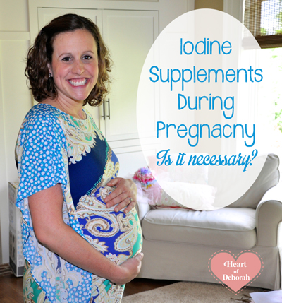 iodine supplements during pregnancy, is it necessary?