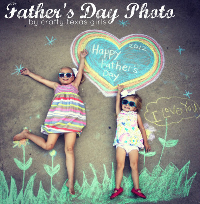 father's day crafts, chalkboard design