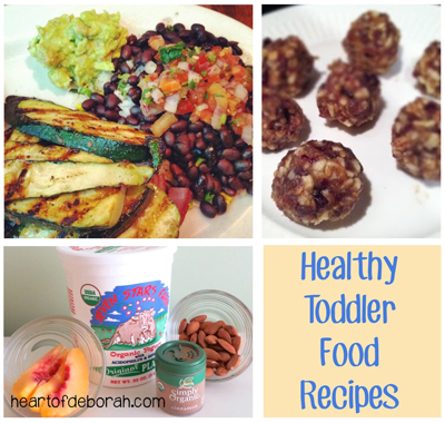 healthy toddler food recipes