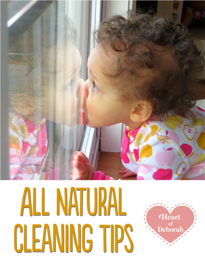 all natural cleaning tips
