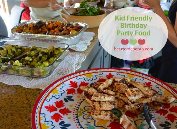 Kid Friendly Birthday Party Food