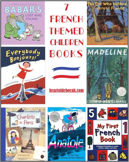 children's french books, books for children about france