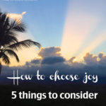 How to Choose Joy