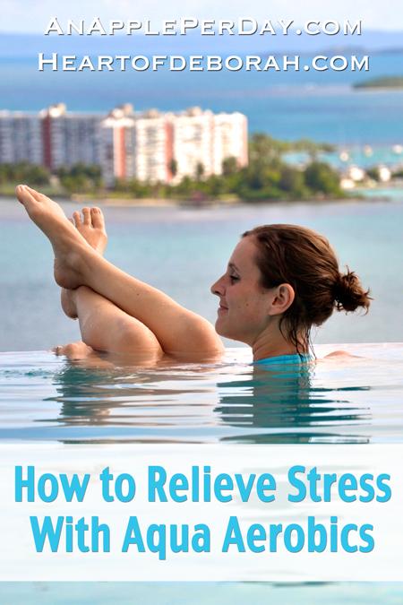 relieve stress with aqua aerobics