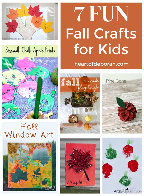 Looking for easy and fun fall crafts for your kids? Here are 7 autumn activities your children will love! Sensory play, painting and cutting perfect for preschool.