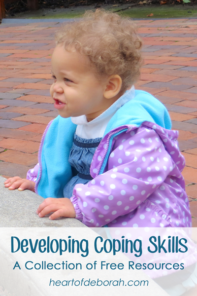 Want to find coping skills for kids? Here is a collection of free resources for parents.