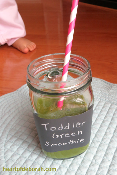 Toddler-Green-Smoothie