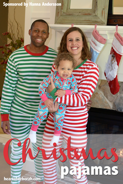 Looking for a fun family tradition around the holidays? Try matching Christmas pajamas!