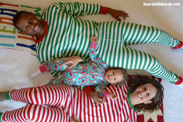 matching family christmas pajamas from hanna andersson
