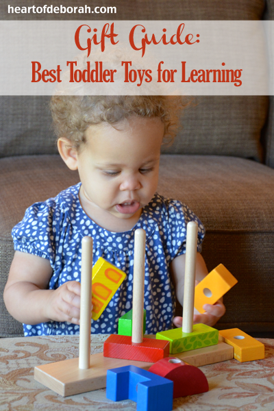 Gift Guide: Best Toddler Toys for Learning