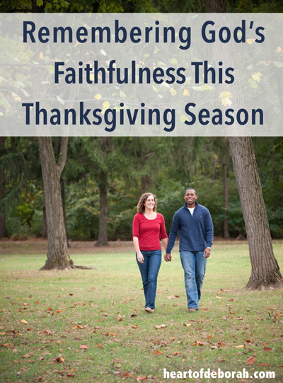 Remembering God's Faithfulness