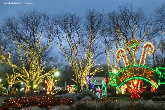Hershey Park Christmas Candy Lane