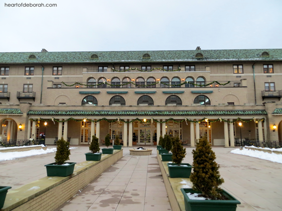 The beautiful and historic Hotel Hershey