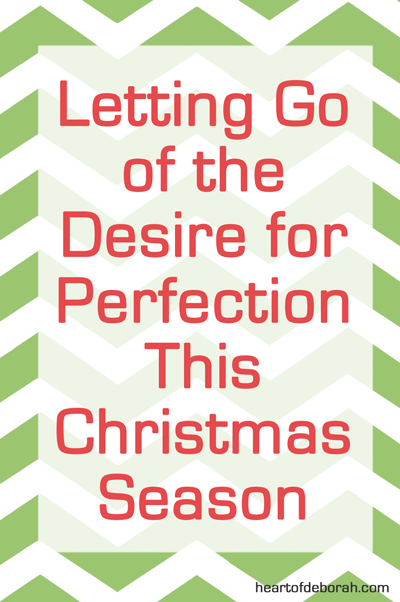 Practically Perfect, Being Real This Christmas