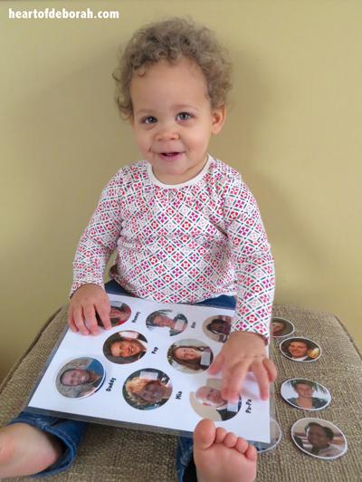 DIY Toddler Name Activity
