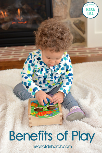 What Are the Benefits of Play for Children? Plus a great HABA USA Giveaway! Ends 2/9 ($40 value).