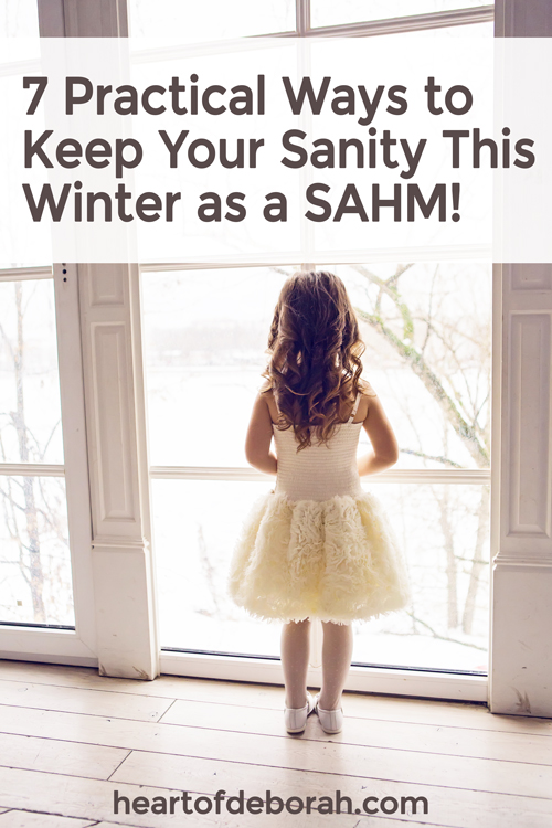 Winter can drag on and as a SAHM it can be difficult to beat the winter blues. Everyone is saying I'm bored and you have cabin fever. Here are 7 ways to beat the blues and find joy being stuck inside.