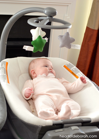 At Home With Graco®: My favorite newborn essential is now the pack 'n play with nearby napper! Heart of Deborah