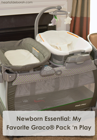 At Home With Graco®: An honest review of my favorite newborn essential! Heart of Deborah