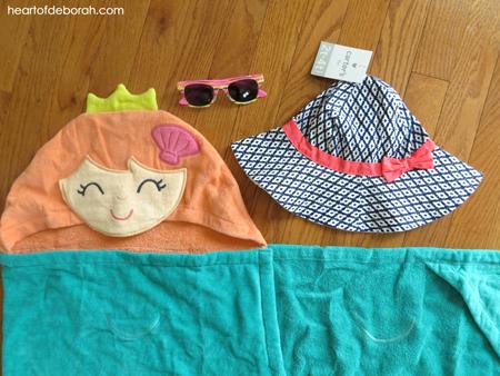 How cute is this mermaid towel?