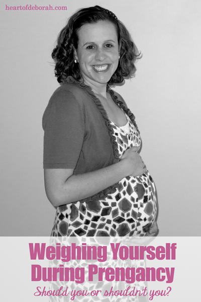 Should you be weighing yourself during pregnancy? Here is one mother's thoughts on the pros and cons of the scale during pregnancy.