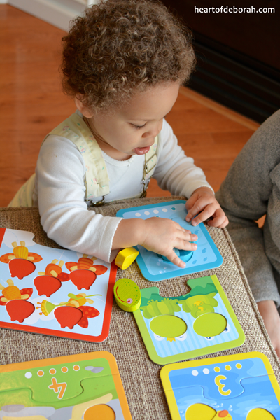 We are ditching electronics and finding quality wooden toys. Here are some benefits of puzzles and a few of our favorite HABA USA toys.