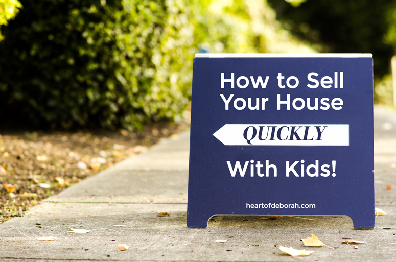 5 Tips For Selling Your House With Young Kids. Tip number 2 is a game changer!
