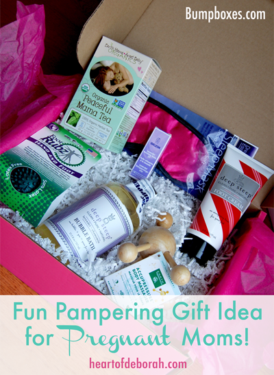 Searching for a unique pregnancy gift? Indulge in some pregnancy pampering with one of Bump Boxes curated themed boxes. Heart of Deborah