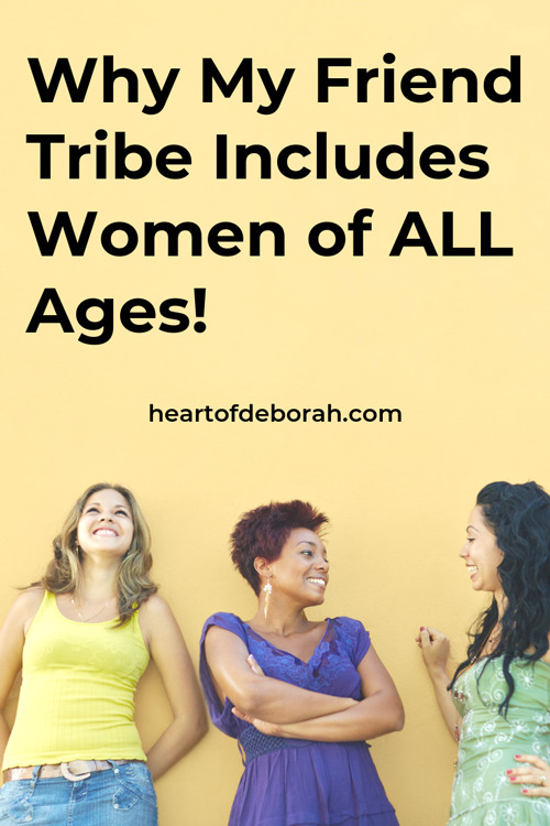 I've found so much value in meeting with women who are older than me. They have so much wisdom in parenting and motherhood to pass on to me. Read why my mom tribe includes older generations!