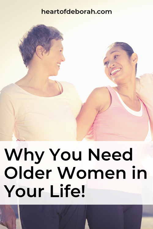 My mom tribe is intergenerational! There is so much we can learn from older generations in our life. Read why my friends include older women too.