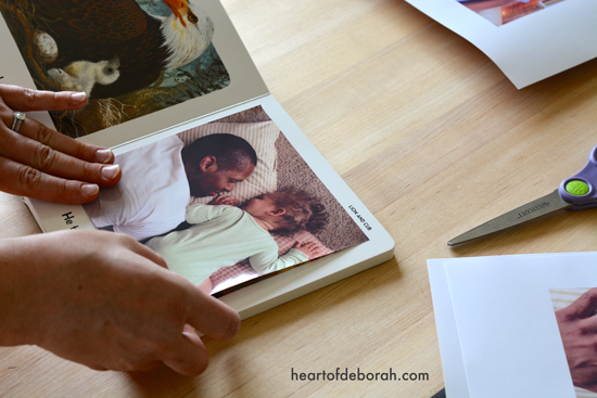 Create your own personalized board book this Father's Day. It's a great DIY craft that your kids and husband will love!