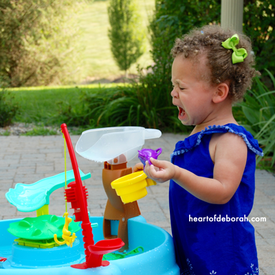 Here are some ways to encourage independent play with your toddler. We love Little Tikes toys that promote imagination and creativity.