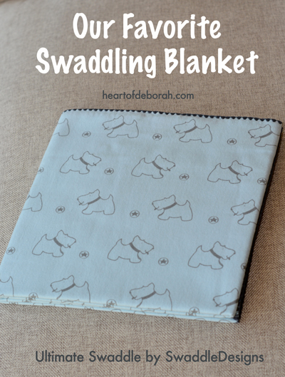 Swaddling your baby is easy and many parents feel it helps calm a newborn baby. Check out our favorite swaddling blanket plus a great giveaway!