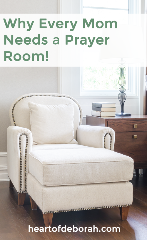 Being a mom is hard!! When we don't know what to do we can turn to God in prayer. Learn how to create your own prayer room! #warroom #prayer #christianparenting